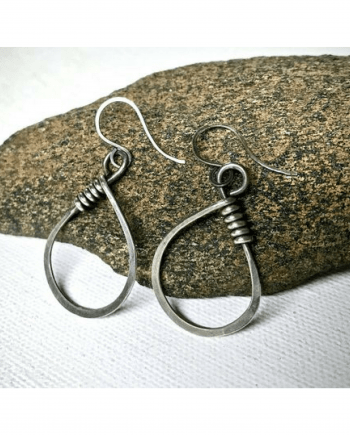 Handmade Minimalist Sterling Silver Earrings