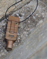 Handmade wooden pendant