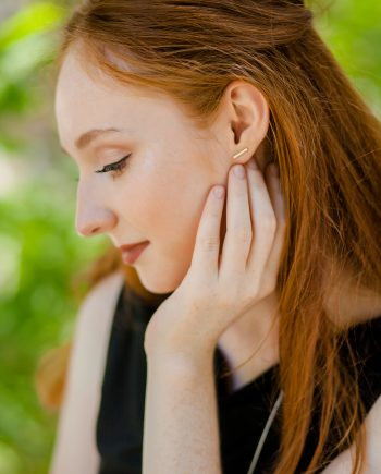 Simple T Bar Earrings