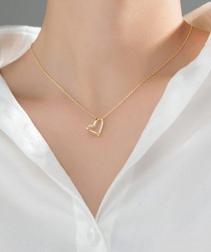 Heart Minimalist Necklace
