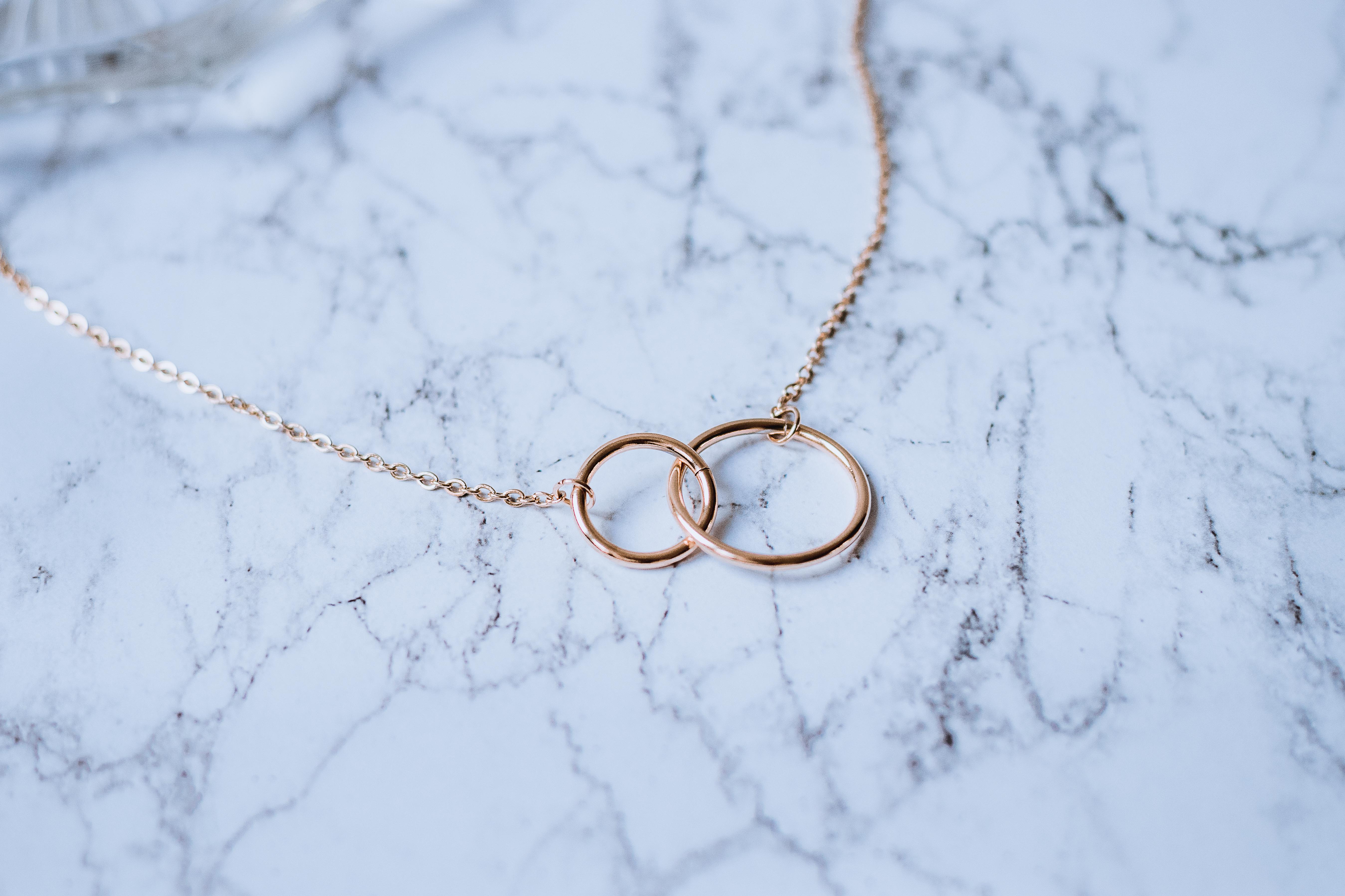 Titanium Geometric Minimalist Necklace