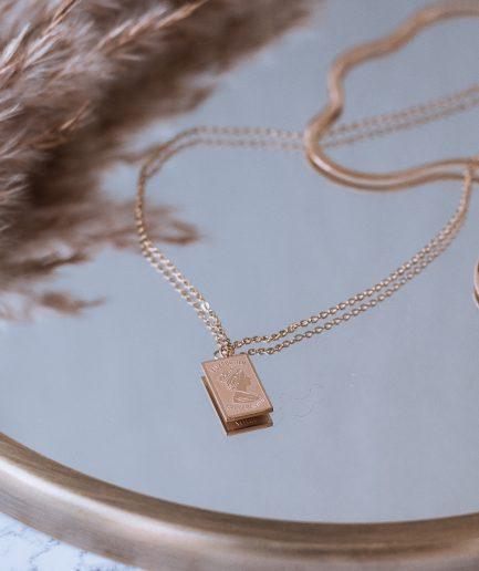 Titanium multi strand Necklace