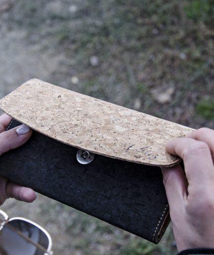 woman Cork wallet