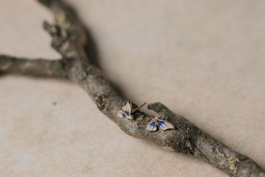 Butterfly Minimalist Earrings