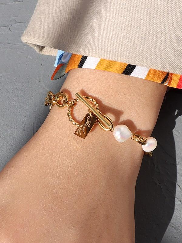 Titanium Stainless Steel Bracelet