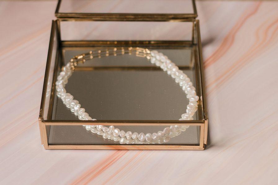freashwater Pearl Vintage Necklace